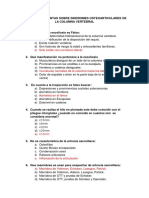 Cuestionario osteoarticular