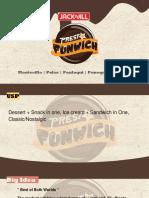 Presto Funwich - Ad Campaign