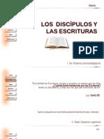 01 Los Discípulos y Las Escrituras
