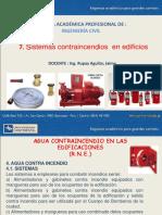 7. Sistema Contraincendios en Edif..