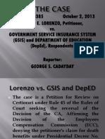 GSIS Case digest