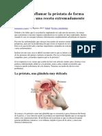 Tartamiento Natural de La Prostota
