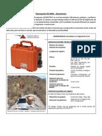 Especif Tecnicas Sismografo ES 3000