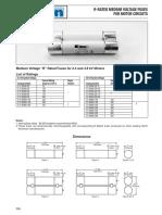 Application for HV Motor Circuit Fuses