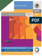 10. Modulo 6. Guia Para Facilitar La Inclusion Pp. 49-50