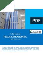 Ficha Tecnica Placa Std Extraliviana - Gyplac