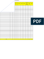 Formato Informe de Almacenes