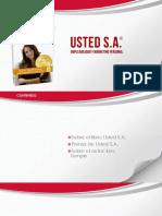 Usted SA Español 22032018