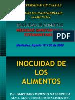 Inocuidad, Medidas Sanitarias y Fitosanitarias Univ Caldas 2009