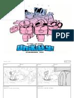 Unikitty Storyboard Test