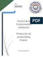 Producción de Combustibles Limpios y Renovables