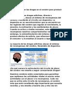 Cómo Funcionan Las Drogas en El Cerebro Para Producir Placer