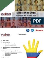 Encuesta elecciones 2018 marzo medición #5