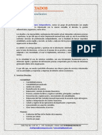 Brochure de Servicios Profesionales Ofrecidos