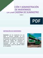Planeacion y Administración de Inventarios