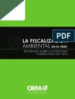 Libro Fiscalizacion Ambiental Reflexiones Atribuciones OEFA