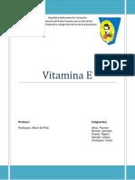 Quimica Trabajo Final Vitamina e