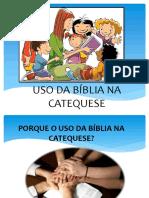 Uso Da Bíblia Na Catequese