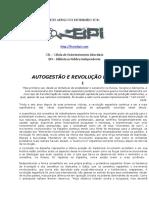 Autogestao e Revolucao Espanhola