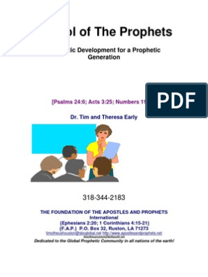 eBook - School of Prophets   Prophecy   Rapture