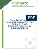 Saneamiento Integral de Cuenca Matanza- Riachuelo