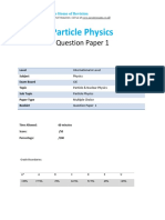 41.1 Particle Physics-cie Ial Physics-qp