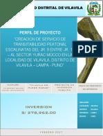 Perfil Vilavila Mirador Rec