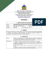 DIR5012 - Metodologia Da Pesquisa Em Direito