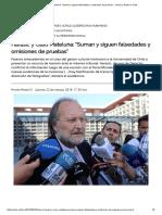 """Harasic y Caso Mateluna_ """"Suman y Siguen Falsedades y Omisiones de Pruebas"""" « Diario y Radio U Chile"""
