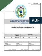 Procedimiento Elaboracion Manifiesto Ambiental 1