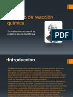 Proyecto de Reacción Química