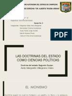 Equipo No. 2 Doctrina Del Estado