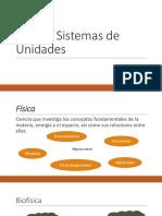 Física y Sistemas de Unidades