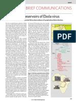 Fruit Bats as Reservoirs of Ebola Virus