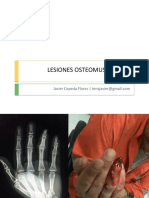 7. LESIONES OSTEOMUSCULARES