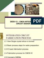 Topic 2-Ic Fabrication Process