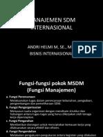 Pertemuan 10 Manajemen Sdm Internasional