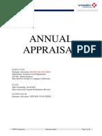 Annual Appraisal - Hoang Quang Khai