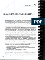Brown - Ch. 15 - Integrating the Four Skills