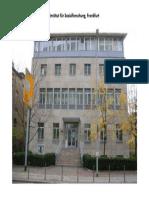 Institut Für Sozialforschung