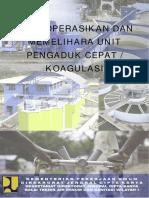 5 Mengoperasikan Dan Memelihara Unit Pengaduk Cepat Atau Koagulasi COVER (Cover Diganti Dengan Cover Utama)