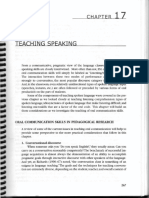 Brown - Ch. 17 - Teaching Speaking