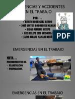 Emergencias y Accidentes en El Trabajo