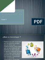 Historia Del Desarrollo Tecnológico en El Siglo XX.