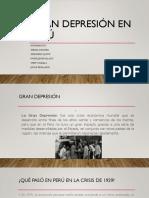 Gran Depresión - Perú