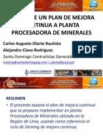1.- Augusto Olarte Plan de Mejora Continua