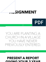 Church Planting 6 Changing Roles