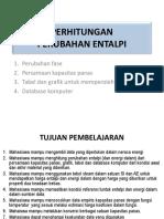 Ch 23. Perhitungan Perubahan Entalpi
