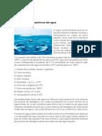 Generalidades del agua