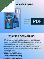 Seminar-4 Blow Molding